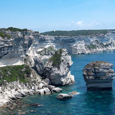 Bonifacio, falaises