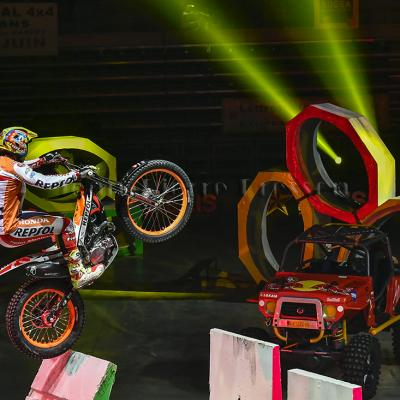 Trial moto indoor