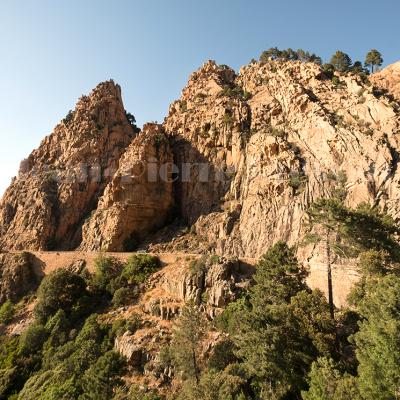 Corse, callanques de Piana