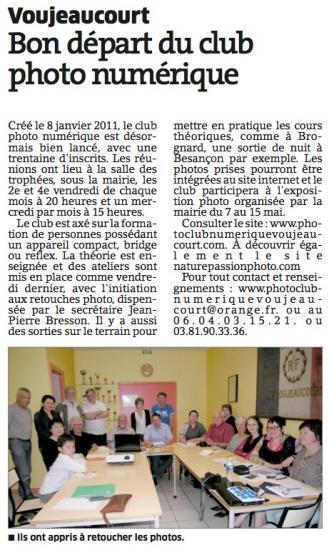 Avril 2011 (L'Est Republicain)