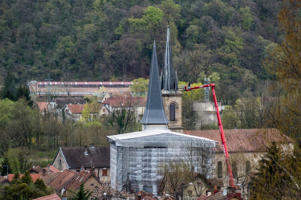 Voujeaucourt les églises  (1)