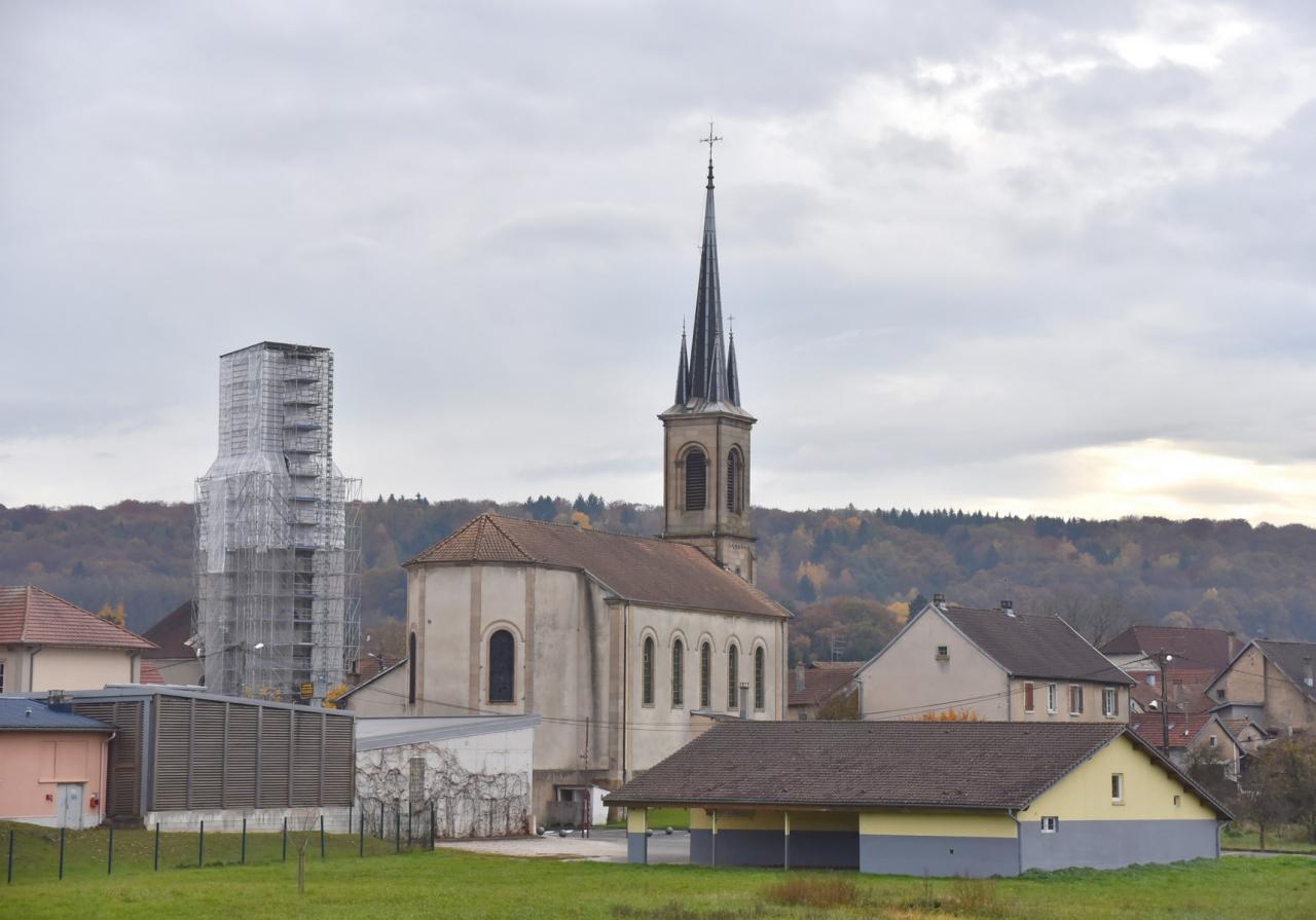 Voujeaucourt les églises  (2)